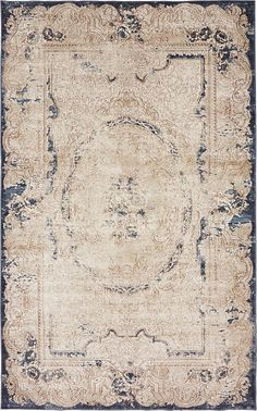Cream Villa Area Rug