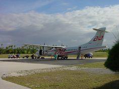 Tikehau Airport - Air Tahiti ATR