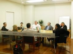 Christian-Jewish and Culture Dialogues Held at Olivet in July  July 26, 2012