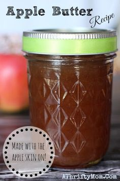 Apple Butter Recipe, How to make apple butter,Quick and Easy Apple Butter, (fast easy baking recipes) Apple Butter Canning, Canning Apples, Homemade Apple Butter, Recipe For Apple Butter, Apple Peel Recipe, Old Fashioned Apple Butter Recipe, Crockpot Apple Butter, Jelly Recipes, Recipes