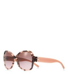 502faf11b1d1 For Mother s Day  Tory Burch Oversized Butterfly Sunglasses in Blush Marble  Tory Burch