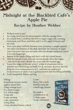 Cafe Recipes, Apple Pie Recipes, Blackbird Cafe, Dessert Drinks, Desserts, Cupcake Cakes, Cupcakes, Cafe Food, Apple Slices