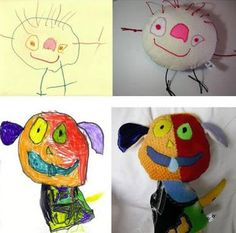 Hurmioitunut: Piirroksista leluiksi