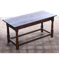 Image of 18th C. Antique English Farmhouse Table