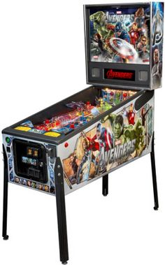 Avenger Pro / Professional Pinball Machine From Stern