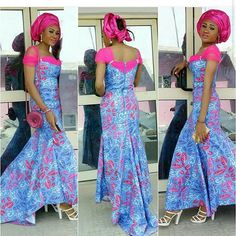 Unleash Your Style In These Creative Ankara Styles - Wedding Digest Naija African Print Dresses, African Fashion Dresses, African Dress, Nigerian Fashion, African Clothes, Ankara Fashion, African Attire, African Wear, African Women