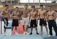 2016 Brazilian Men's Gymnastics Team