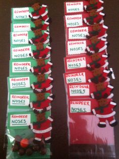 Reindeer noses Great inexpensive gift for Christmas