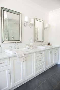 Crisp white color palette: http://www.stylemepretty.com/living/2016/02/17/36-of-the-prettiest-bathrooms-of-all-time/