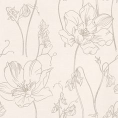 Albany Fashion (FD30982)   Albany Wallpapers   A Pretty Stylised Floral  Design, Combining Part 49