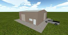Cool 3D #marketing http://ift.tt/2lmsSXl #barn #workshop #greenhouse #garage #roofing #DIY