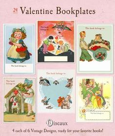 Valentine Mixed Bookplates!