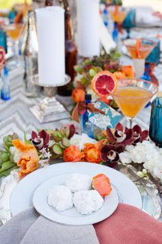 Tabletops: Southwestern Casual - Exquisite Weddings