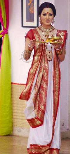 Durga Puja Fashion 2013!. Read more at http://whyoffashion.com/durga-puja-fashion-2013/