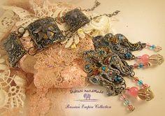 Modern Hippie, Polymer Clay Jewelry, Jewelry Sets, Bracelets, Boho Chic, Tutorials, Jewellery, Handmade, Fimo