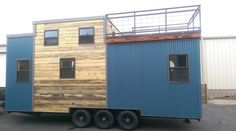 Tiny House on Wheels with Rooftop Access 004