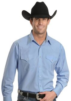 274560fc111 Amazon.com  Ely Cattleman Men s Classic Western Shirt Tall