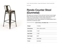 Counter Height Stools, Tattoo Shop, Construction, Day, Classic, Frame, Modern, Style, Building