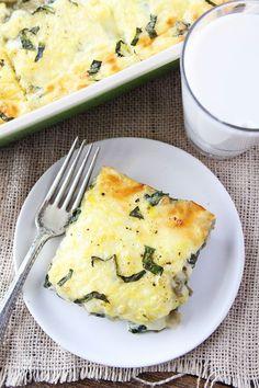 Spinach Artichoke Egg Casserole Recipe