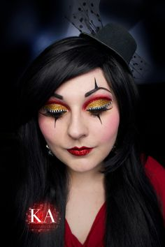 Ring Leader Makeup (with Tutorial) by KatieAlves on DeviantArt