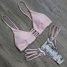 ♡ The tans will fade but the memories will last forever ♡.Summer Swimwear Women Bikini