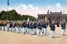 German troops parading in Berlin