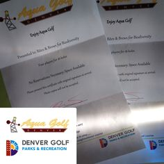 Last night, we picked up these great passes for four to Aqua Golf! Thank you to @denvergolf for donating them for #bbb16 silent auction!