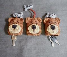 Best 12 No pattern – for sale. Crochet Key Cover, Crochet Case, Crochet Quilt, Bead Crochet, Crochet Crafts, Yarn Crafts, Crochet Toys, Crochet Projects, Small Crochet Gifts