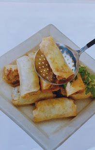 .. Pinezes ..: Σπρινγκ Ρολς Mexican, Ethnic Recipes, Food, Essen, Meals, Yemek, Mexicans, Eten