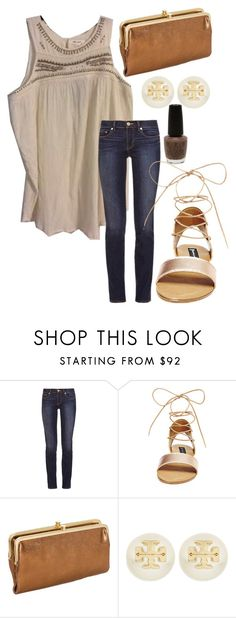 """""""Untitled #211"""" by juliannemv on Polyvore featuring Tory Burch, Steve Madden and OPI"""