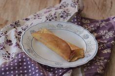 Crepes salados de jamón y queso Thermomix