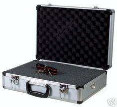 Portable Flight Case With Foam Interior Secure Luggage And Black Plastic Handle Cameras For Sale, Cool Gadgets, Suitcase, Black, Drones, Handle, Plastic, Electronics, Amazon