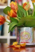 Mother's Day Gift Idea: Children's Art Vase  Art Activity