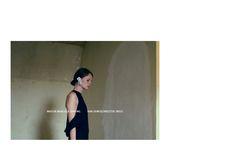 Earring: MAISON MARGIELA Dress: ANN DEMEULEMEESTER