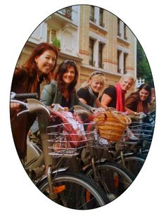 A great way to get around Paris is on Velibes ... bikes that you can rent for pas cher from stations around the city.