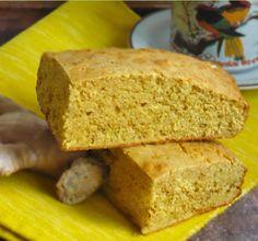 Chlebek kukurydziany z imbirem