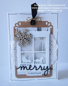 Julie Kettlewell - Stampin Up UK Independent Demonstrator - Order products 24/7: Hearth and Home dies