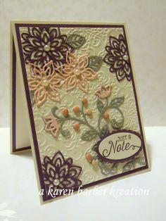 CC588 DT Sample- Karen's card