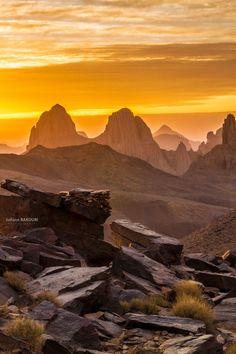 Sunset - Hoggar Mountains