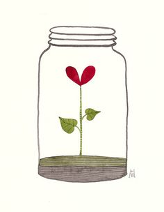 When love is nurtured, it will prosper and grow, but ignored, it will whither.
