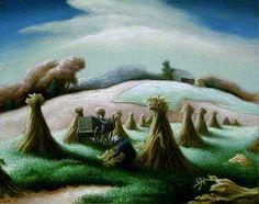 thomas hart benton corn and winter wheat - Google Search