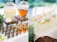 wedding drink stations - Google Search
