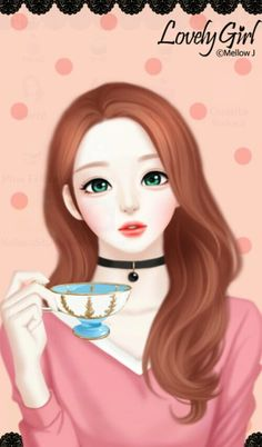 Find images and videos about lovely girl and Enakei on We Heart It - the app to get lost in what you love. Cartoon Girl Images, Cute Cartoon Girl, Korean Illustration, Illustration Girl, Anime Korea, Horse Girl Photography, Lovely Girl Image, Cute Girl Drawing, Cute Girl Wallpaper