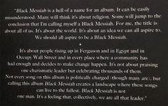 Read Every Lyric From D'Angelo's Surprise New Album 'Black Messiah' | MetroLyrics