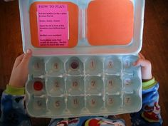 Make Your Own Math Games: Egg-O! | Kids Activities Blog