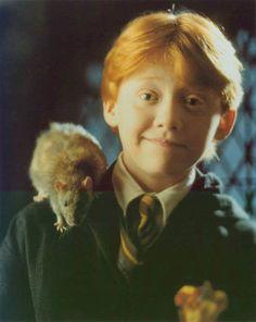 Ron Weasley with Peter Pettigrew