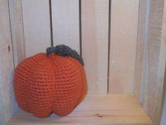 Crocheted Pumpkin pumpkin halloween by LovingTouchCrafts on Etsy