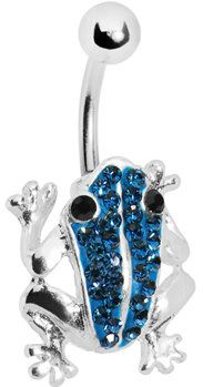 #Body Candy               #ring                     #Blue #Crystal #Frog #Belly #Ring #MADE #WITH #SWAROVSKI #ELEMENTS #Body #Candy #Body #Jewelry          Blue Crystal Frog Belly Ring MADE WITH SWAROVSKI ELEMENTS | Body Candy Body Jewelry                                               http://www.seapai.com/product.aspx?PID=1194400