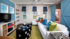 Cool blue room blue home design livingroom interior design interior decorators de casas design office Modern House Design, Home Design, Home Interior Design, Design Room, Design Ideas, Playroom Design, Floor Design, Interior Architecture, Billard Toulet