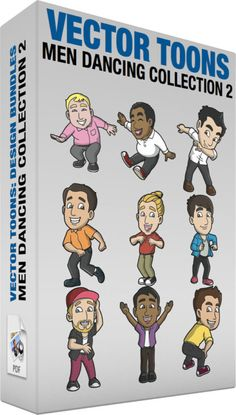 Men Dancing Collection 2 :  Bundle of images includes the following:  A Man Dancing Hit The Quan A chubby man with blonde hair wearing a pink button up shirt gray pants brown belt black and white sneakers grins while dancing to hit the quan  A Man Doing Oops Upside Your Head Dance A black man with curly hair wearing a white sweatshirt with collar dark gray pants red with white sneakers shuts his eyes and smiles as he sits on the floor while dancing to oops upside your head  A Man Doing The…